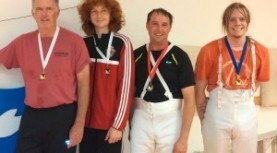 "Jordan Schmidt wins Bronze and earns ""D"" at latest Bay Cup epee tournament"