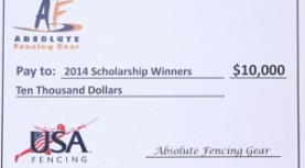 Big News from the USA Fencing All-Academic Team Scholarships