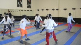 Is your child interested in fencing? Surprise!  He or she may already know  more than you expect