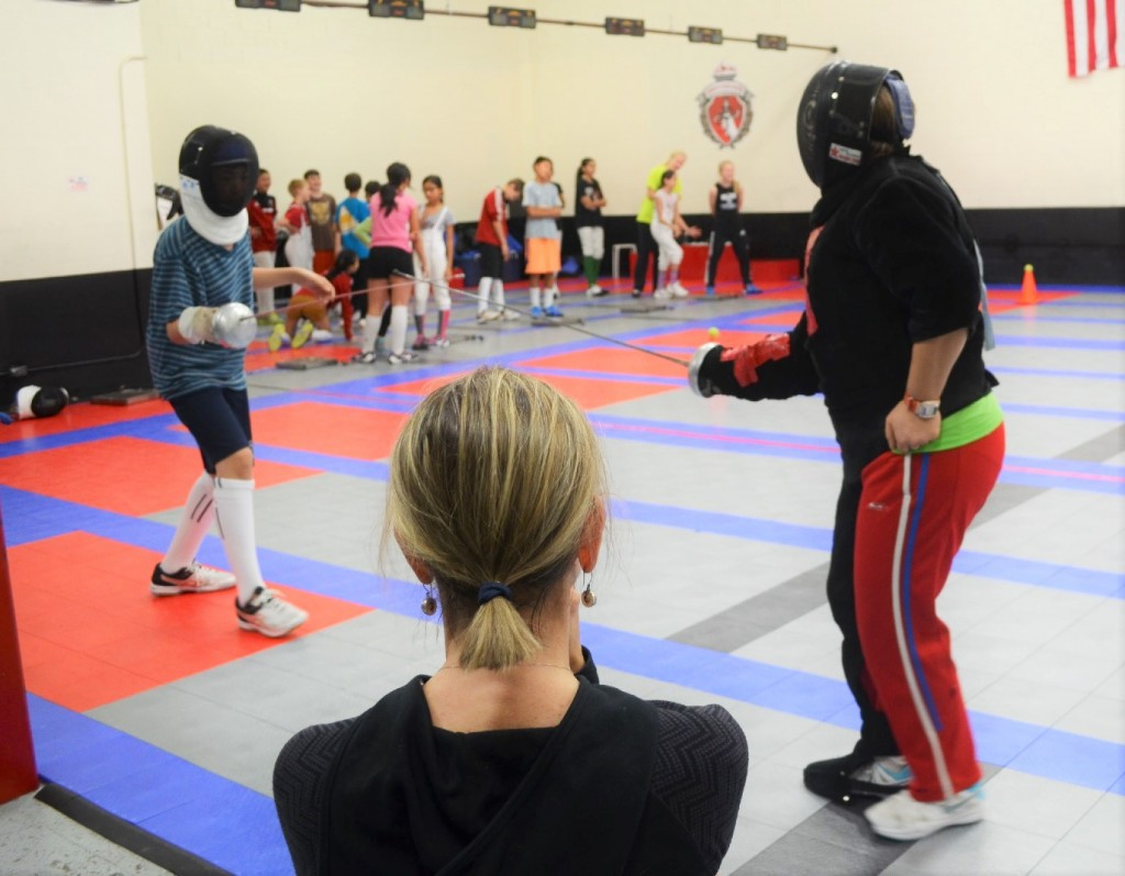 why you shouldn�t watch your child�s fencing practice