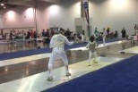 Young Fencers and Intimidation: Facing the taller opponent