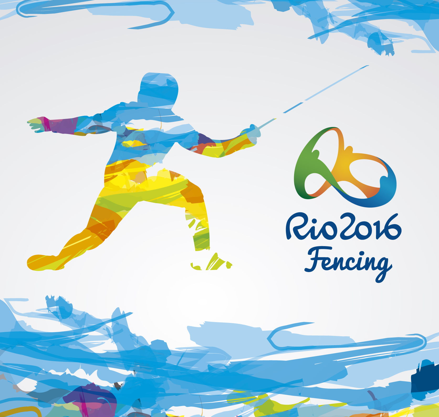 Inspired by Olympic Fencing