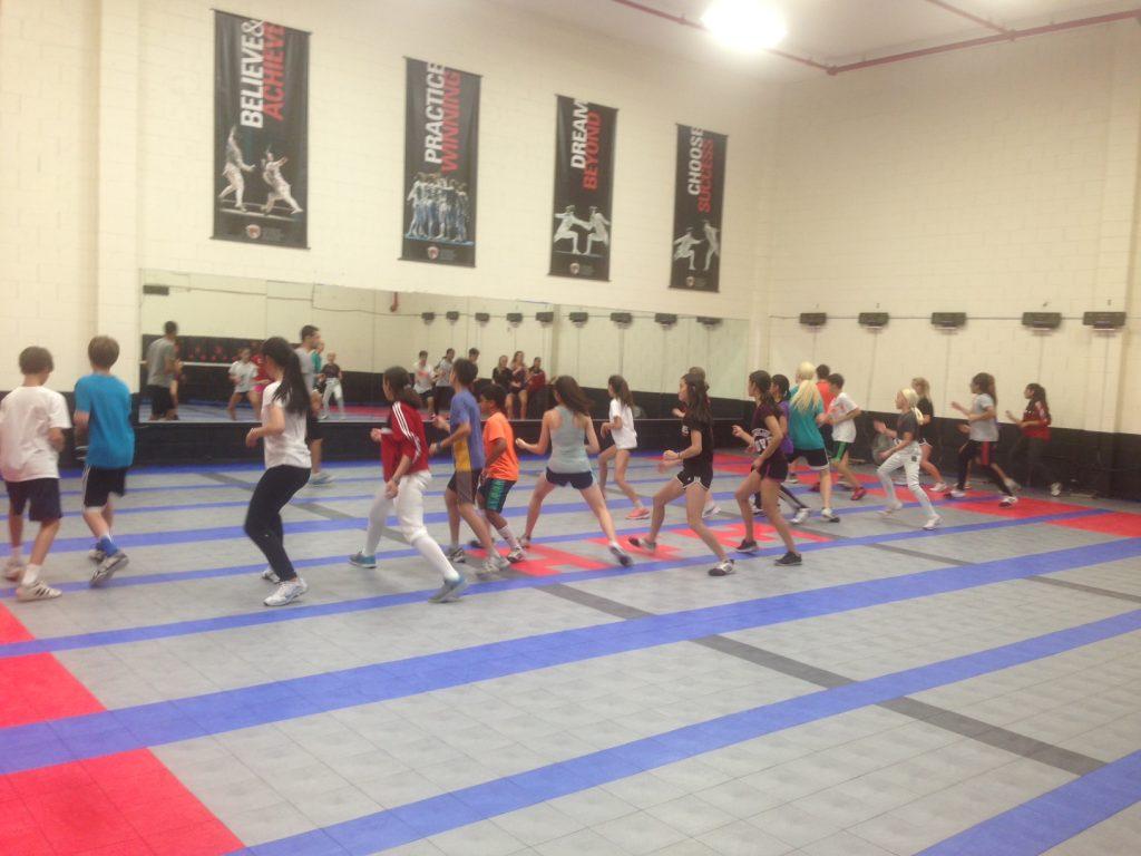 Fencing Summer Nationals Preparation Camp
