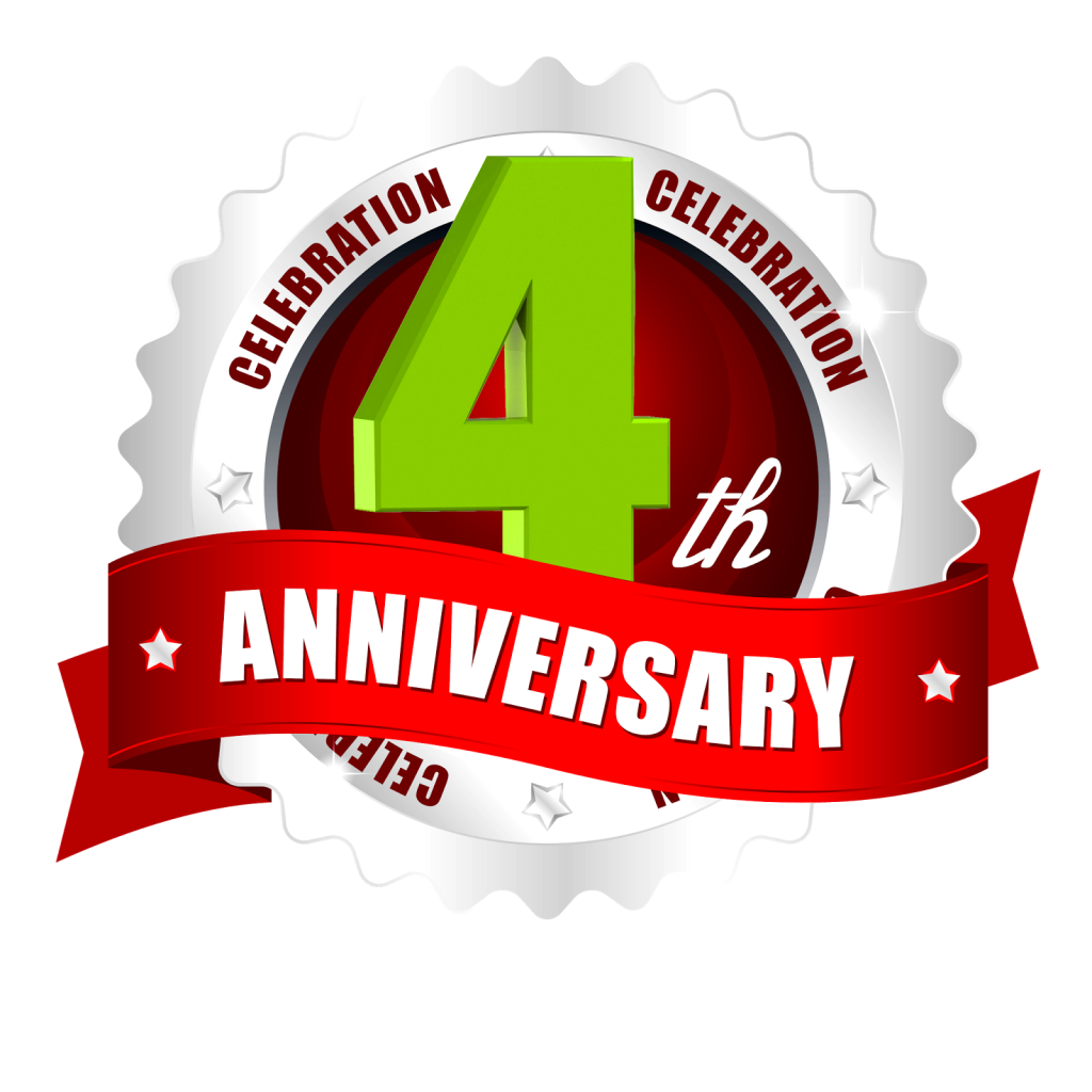 AFM Fourth Anniversary Blog