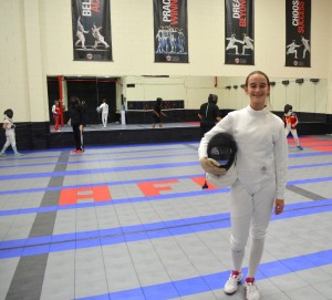 What Do Kids Get Out of Fencing? Erica's Perspective on benefits of fencing
