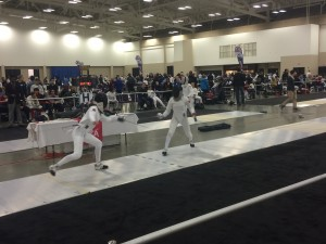 Fencing Competition: November North America Cup (NAC) in Louisville, KY - Women's Cadet Epee