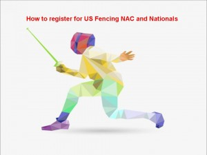 How To register for US Fencing NAC