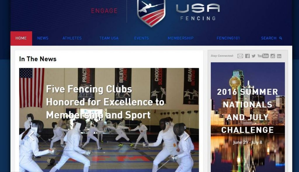 USA Fencing's Club of Excellence Program - AFM Honored