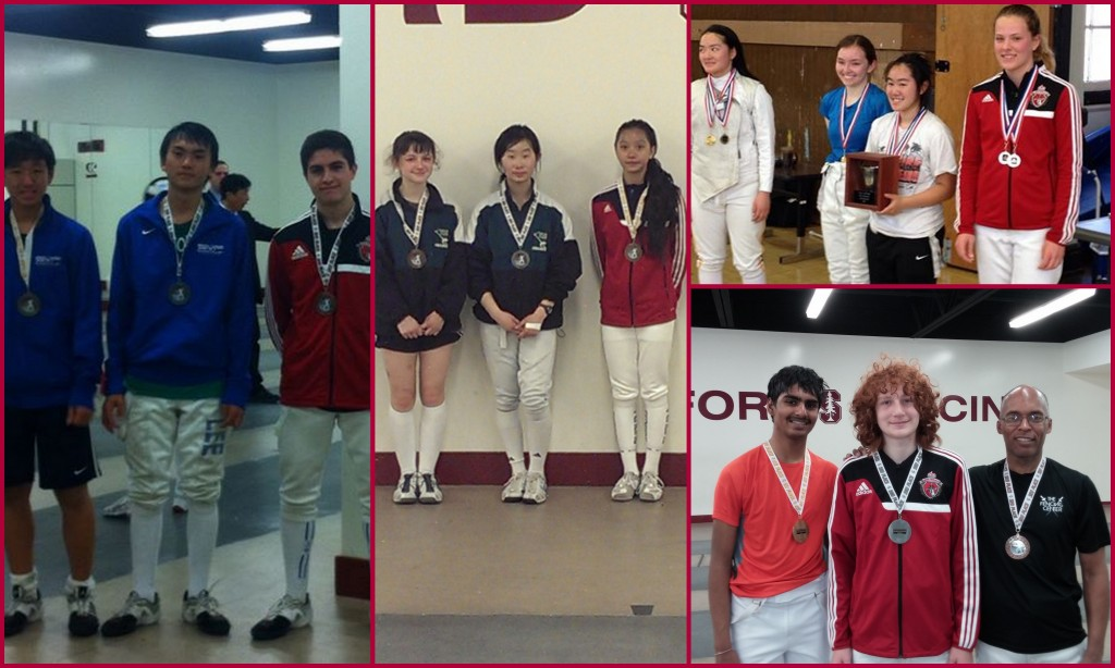 Four new medals to AFM Fencers